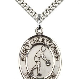 St Christopher Basketball Medals