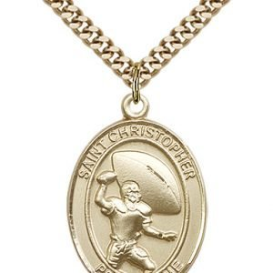 St Christopher Football Medals