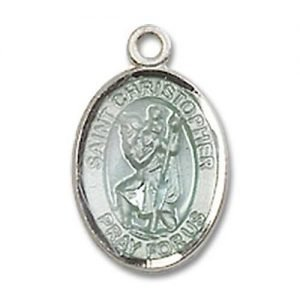 St Christopher Tiny Charm Sterling Silver 84522